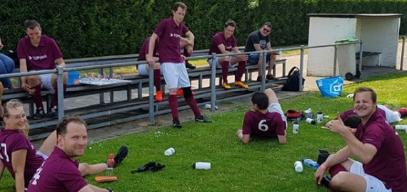 sporten bij TOPdesk